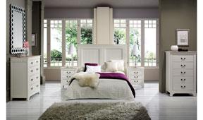 Dormitorio vintage Sucres