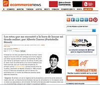 Los retos al lanzar una tienda online en ecommerce-news.es - Enero 2014