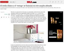 El estilo cl�sico y el vintage se fusionan en este amplio adosado - Agosto 2014