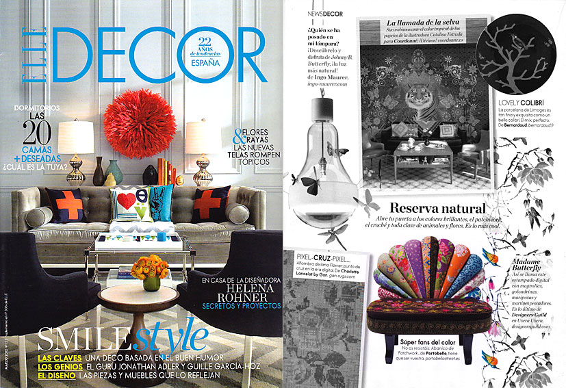 En revista elle decor marzo 2012 - Paginas de decoracion ...