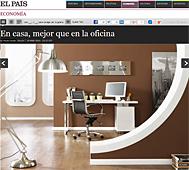 En casa, mejor que la oficina con Portobello en economia.elpais.com - Marzo 2014