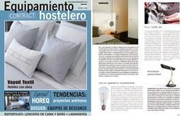 Revista Equipamiento Hostelero - Enero 2015 Portada y P�gina 45