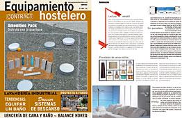 Revista Equipamiento Hostelero - Enero 2014 Portada y P�gina 46