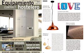 Revista Equipamiento Hostelero - Marzo 2015 Portada y P�gina 48