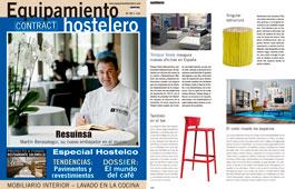 Revista Equipamiento Hostelero - Noviembre 2016 Portada y Página 88