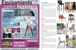 Revista Equipamiento Hostelero - Febrero 2016 Portada y P�gina 72