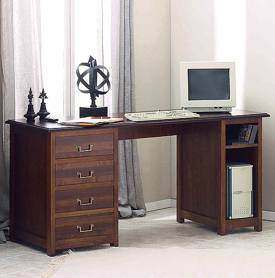 Mesa escritorio pino no disponible en - Escritorio de pino ...