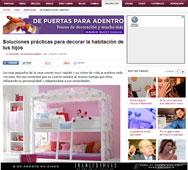 Habitaciones para tus hijos con Portobello en es.tendencias.yahoo.com - Febrero 2014