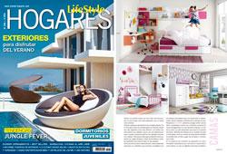 Revista Hogares - Julio 2016 Portada y Página 41