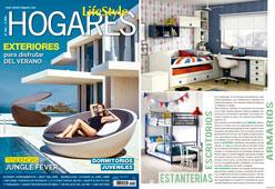 Revista Hogares - Julio 2016 Portada y Página 43