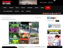 Huertos urbanos con Portobello - Septiembre 2015