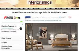Muebles vintage Gala con Portobello en interiorismos.com - Enero 2014