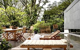 Ambiente de Jardín teak