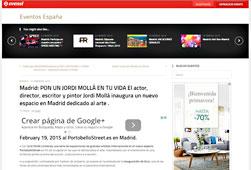 Pon un Jordi Moll� en tu vida en portobello - Febrero 2015