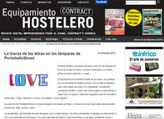 La fuerza de las letras en las l�mparas con Portobello - Diciembre 2014