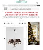 Una decoraci�n sin efectos especiales con Portobello - Diciembre 2014