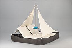 Cama Barco con Velas