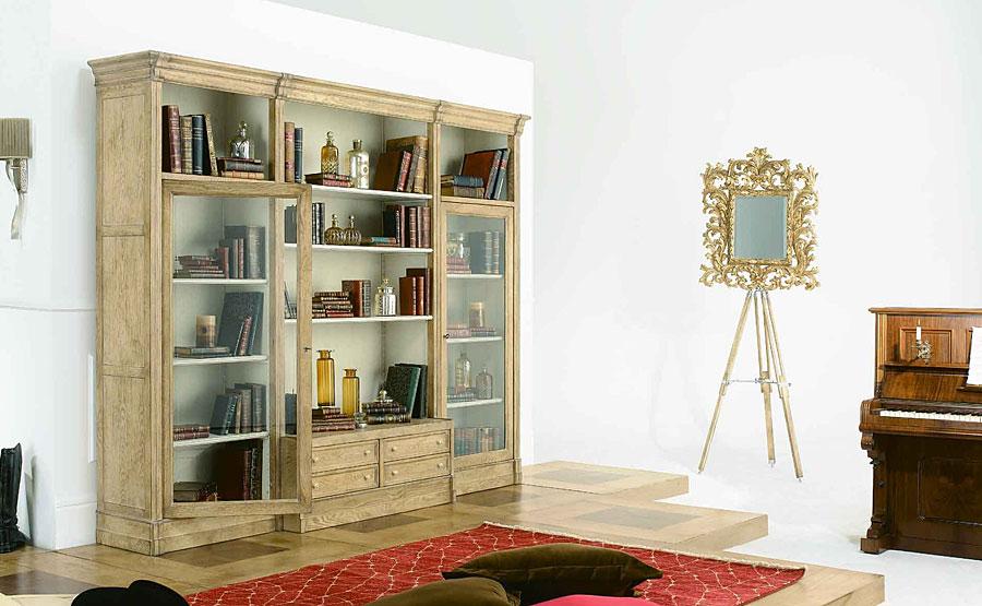 Pin Mueble Librería Para Salón Modelo Alejandro on Pinterest
