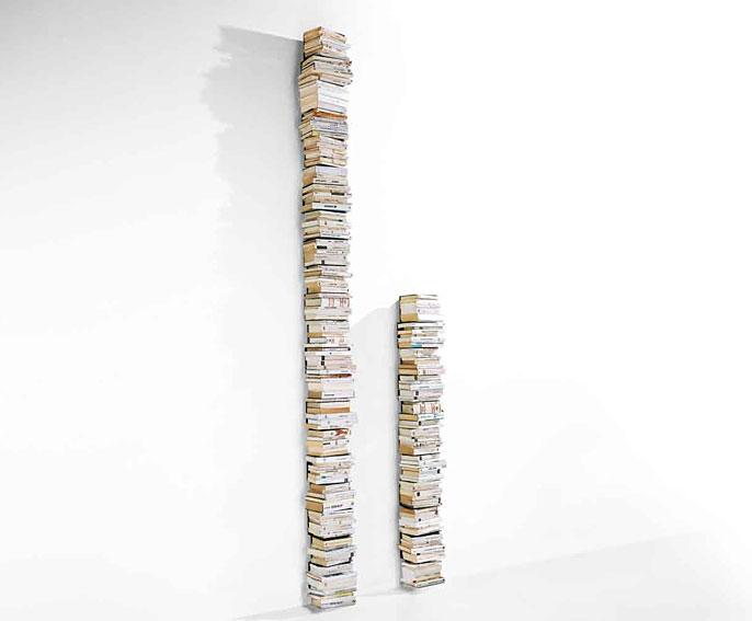 Librero vertical ptolomeo de pared en cosas de - Librerias de diseno ...