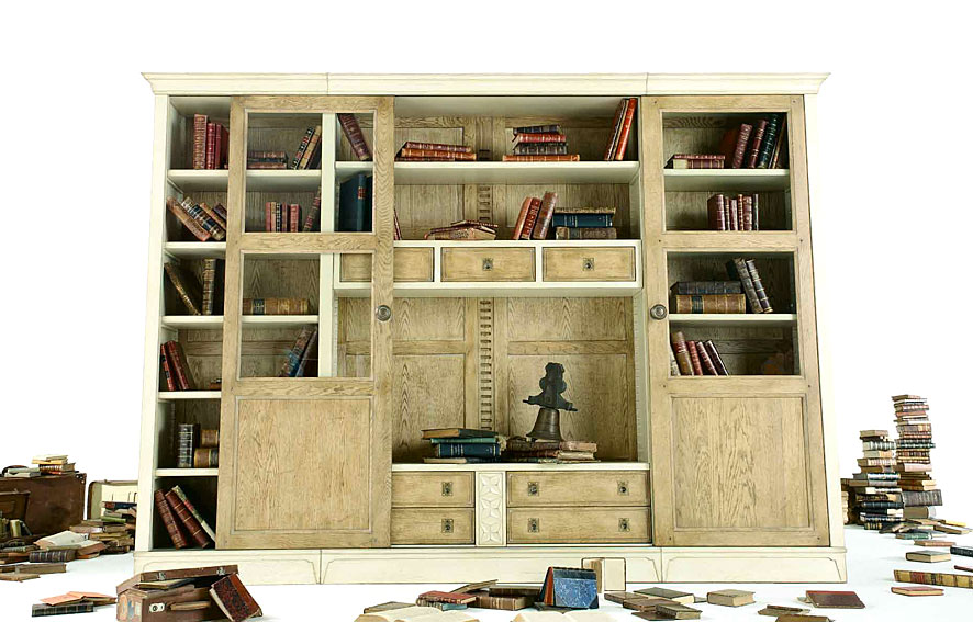 Librer a cl sica romeo ii en for Librerias en salones