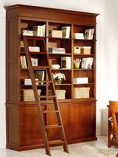 Libreria colonial biblioteca no disponible en for Mueble libreria