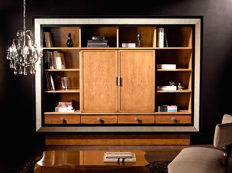Librer a mueble tv puertas correderas style en cosas de - Muebles puertas correderas ...