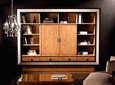 Librería mueble Tv puertas correderas Style