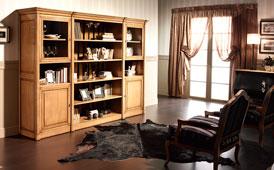 Librería modular de salón Joséphine