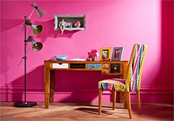 Muebles de madera y colores colecci n babalou en for Malibu muebles