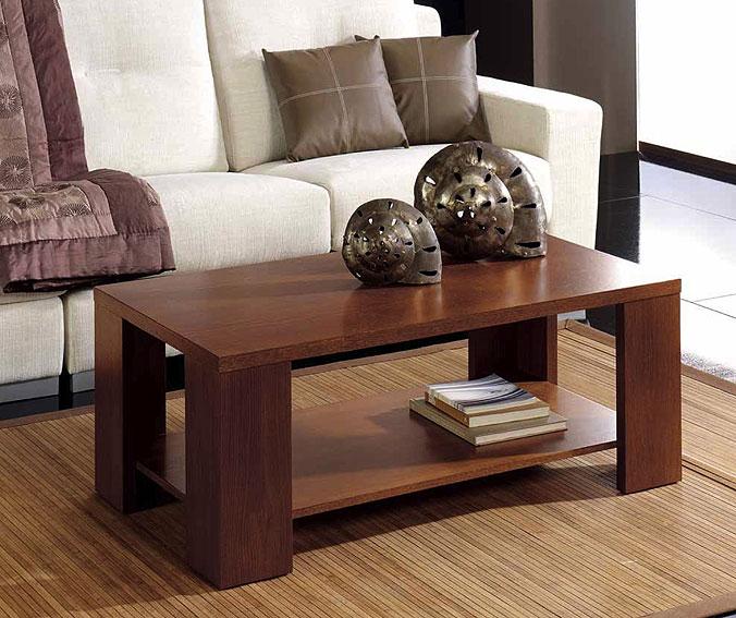 Mesa centro roble en - Decoracion para mesas de centro ...
