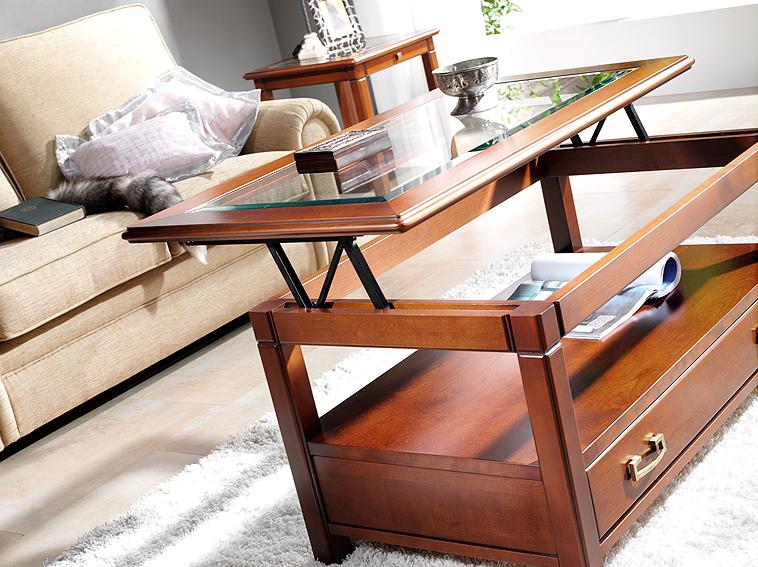 Mesas auxiliares decorar tu casa es - Mesa metacrilato ikea ...
