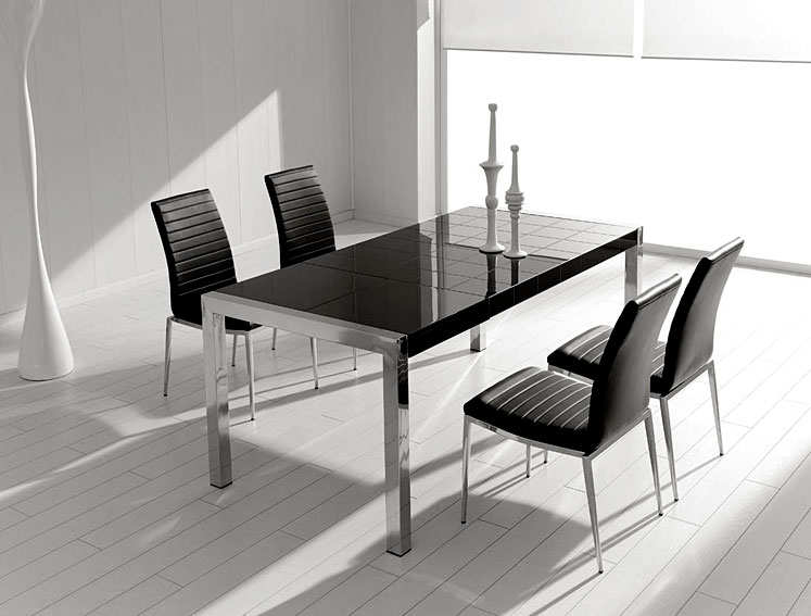 Mesa de comedor extensible moderna mery no disponible en for Mesa comedor moderna