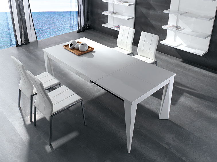 Mesa de comedor extensible dior no disponible en for Mesas grandes para comedor