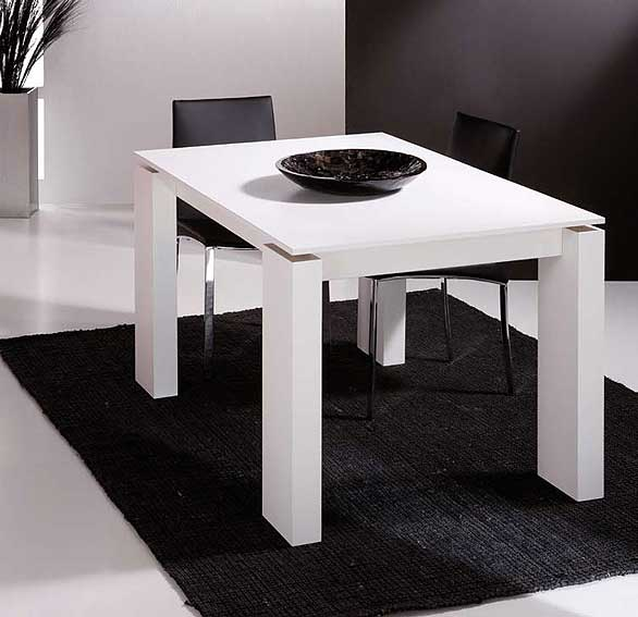 Mesa comedor extensible lugo iii no disponible en for Mesas salon plegables diseno
