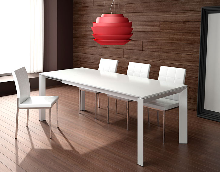 Mesa de comedor extensible helio no disponible en for Mesa comedor muebles
