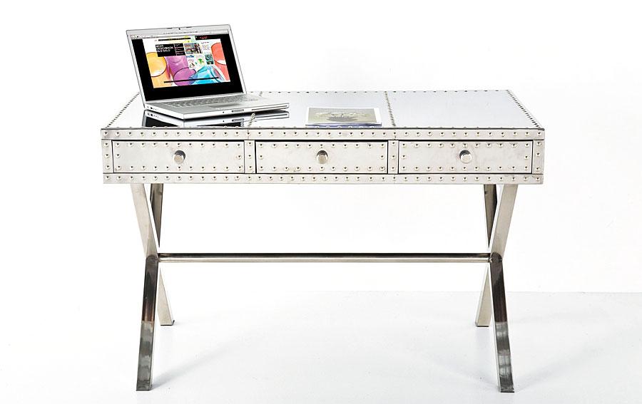 Mesa de escritorio vintage las vegas no disponible en for Escritorio industrial vintage
