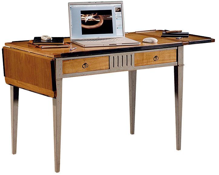 Mesa de escritorio vintage alas lig defectos no - Mesa escritorio colonial ...