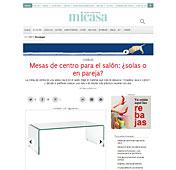 Mesa de centro con Portobello en micasarevista.com - Junio 2014