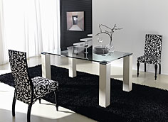 Mesa de comedor moderna Verti