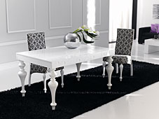 Mesa de Comedor extensible Retto Wood
