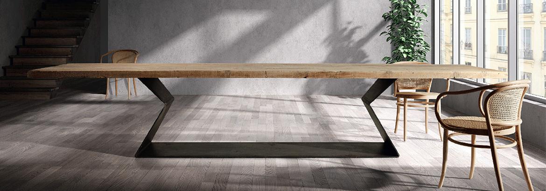 Mesas de comedor grandes en for Mesas de comedor grandes de madera