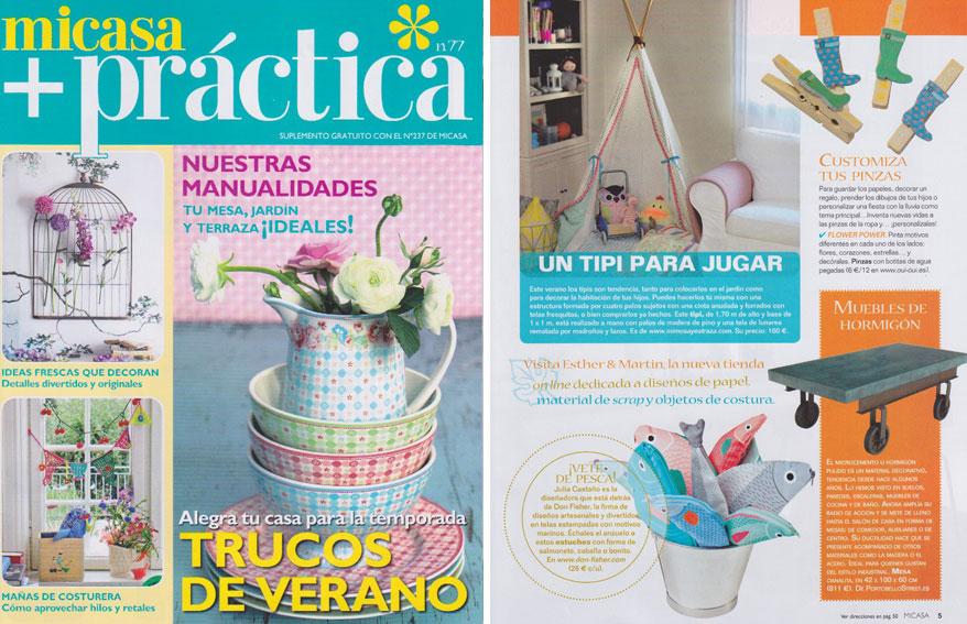 En Revista Mi Casa Pr Ctica Julio