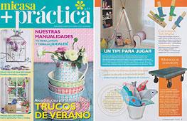 Revista Mi Casa + Pr�ctica - Julio 2014 Portada y P�gina 5