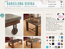 Muebles de microcemento con Portobello en barcelonadivina.tumblr.com - Mayo 2014