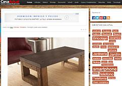 Muebles de microcemento con Portobello en casaactual.com - Mayo 2014