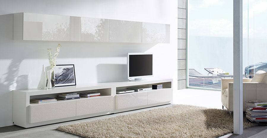 Mueble tv mistral i no disponible en for Muebles modernos living para tv