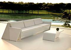 Sofá modular de jardín Rest