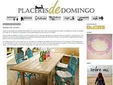 Muebles de mimbre con Portobello en placeresdedomingo.blogspot.com.es - Abril 2014