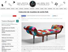 Coleeci�n de muebles de estilo folk con Portobello - Enero 2015