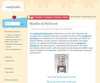 Muebles de patchwork con Portobello en candycraft1.wordpress.com - Marzo 2014